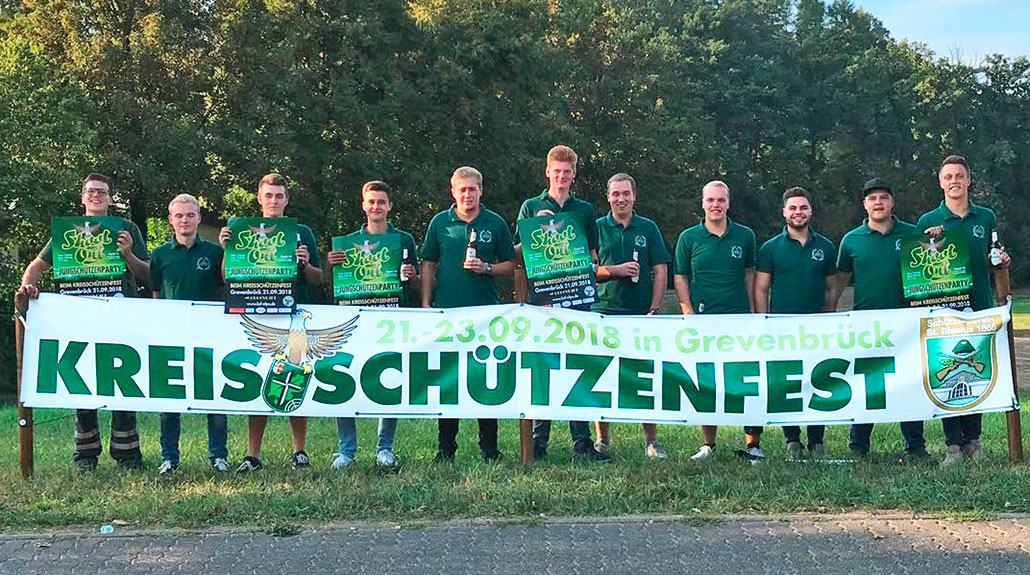 Shoot-Out-Party beim Kreisschützenfest